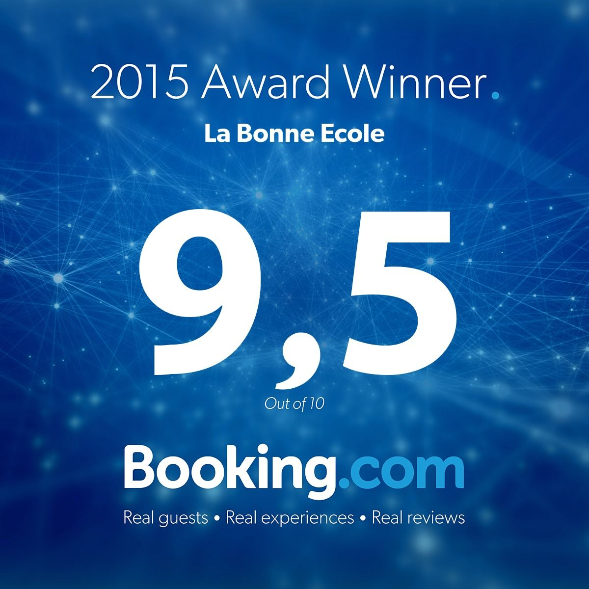 guest review award 2015